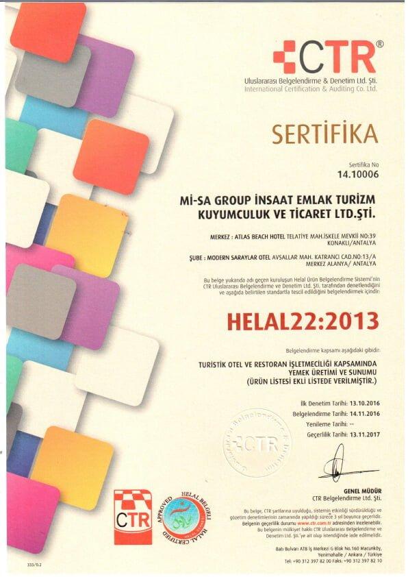 , Sertifika & Ödüller